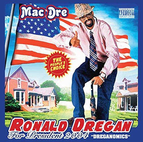 Mac Dre - Ronald Dregan - Dreganomics (Red, White & Blue Vinyl)(X)