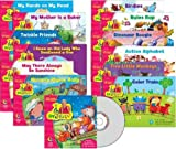 Sing Along and Read Along with Dr. Jean Readers Variety Pack w CD gr. PreK - 1