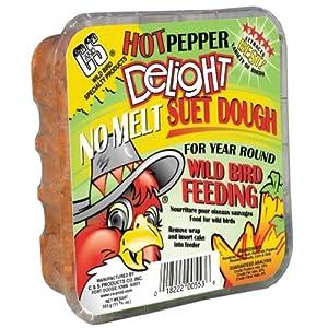 C&S Hot Pepper Delight No-Melt Suet Dough