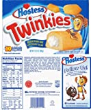 10 Pack Hostess Twinkies Golden Sponge Cakes (425g)