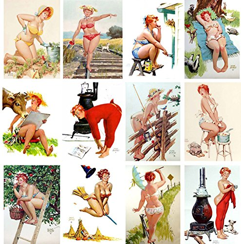 wall-calendar-2017-12pages-20x30cm-hilda-chubby-pinup-girl-redhead-vintage-sexy-pin-up