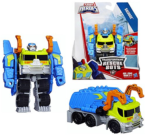 Salvage The Robot to Garbage Truck Playskool Heroes (Garbage Robot compare prices)