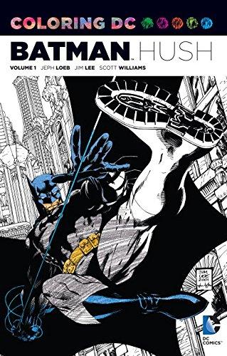 Download Coloring DC: Batman-Hush Vol. 1 (Dc Comics Coloring Book)
