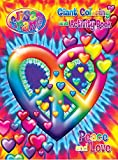 img - for Lisa Frank Coloring & Activity Book - Peace & Love book / textbook / text book
