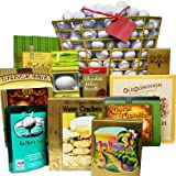 Art of Appreciation Gift Baskets Tee Off Golfers Snacks and Treats Gift Tote
