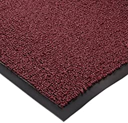 Notrax Non-Absorbent Fiber 231 Prelude Entrance Mat, for Outdoor and Heavy Traffic Areas, 3\' Width x 4\' Length x 1/4\