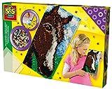 SES Creative - Cuentas para planchar Caballo, multicolor, XL (06076)
