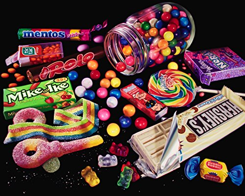 Sour Keys & Friends Collectible Limited Edition Reproduction on Canvas of the Original Oil Painting: Signed, Numbered, Certificate of Authenticity, Ready to Hang, Home & Office Wall Decor, Gift (Numbered Candy compare prices)