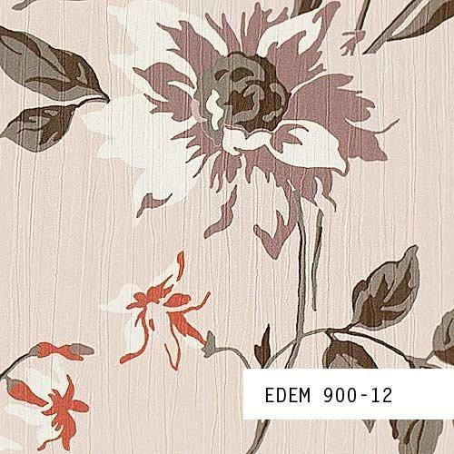 Tapeten MUSTER EDEM 900-Serie | Vliestapete Floral Designer Blumen Textiloptik, 900-XX:S-900-12