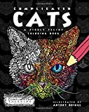 Complicated Cats: A Fiddly Feline Coloring Book (Complicated Coloring)