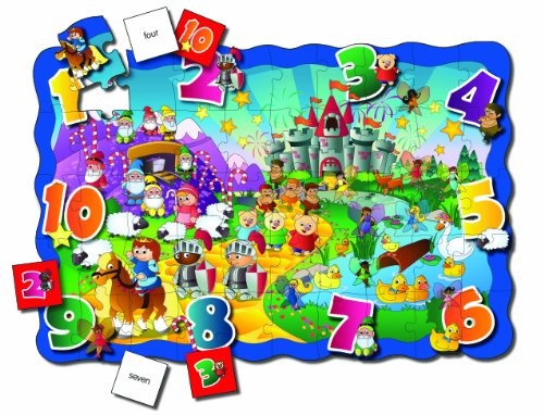 Cheap Fun The Learning Journey Puzzle Doubles Find It! 123 Floor Puzzle (B000P9UBMS)