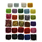 Hisea 120 Meters Fly fishing Ice Chenille Fly Tying Materials Flash Chenille Line Specificly 12 Colors