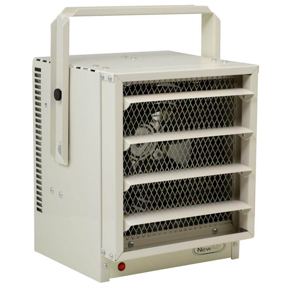 Electric Garage Heater - Safe and Reliable Heat for 500 Sq Ft - Space