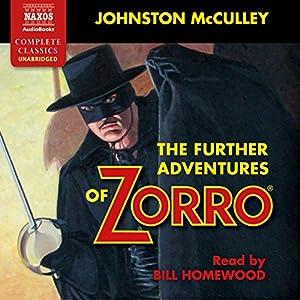 The Further Adventures of Zorro Audiobook