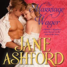 The Marriage Wager (       UNABRIDGED) by Jane Ashford Narrated by Helen Lloyd