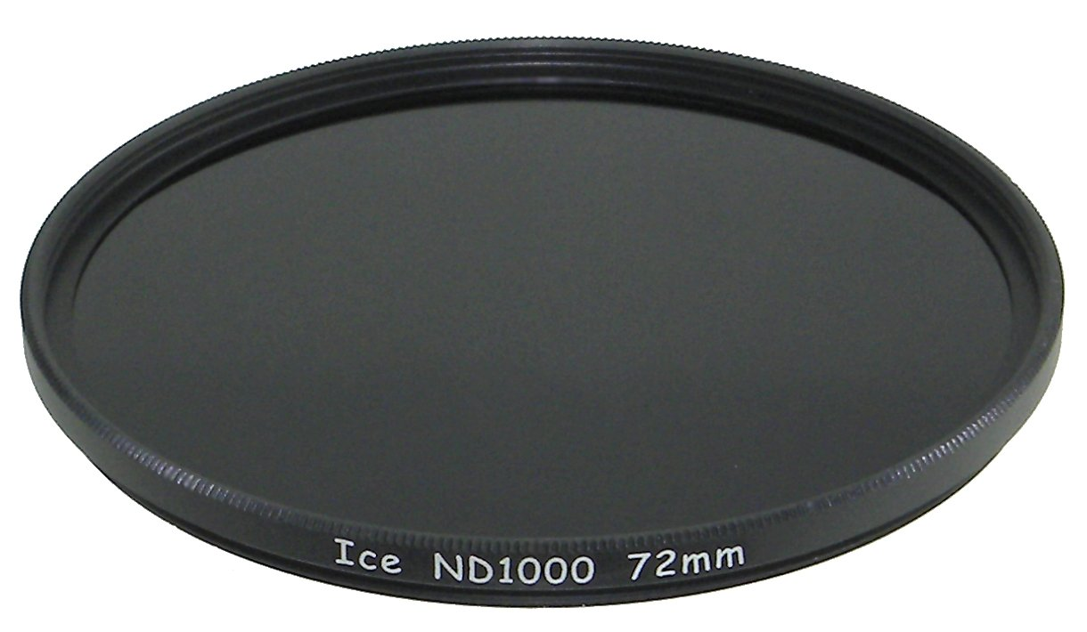 ICE 72mm ND1000 Filter Neutral Density ND 1000 72 10 Stop Optical Glass genuine new view variable neutral density nd2 400 fader filter for dslr camera 62mm