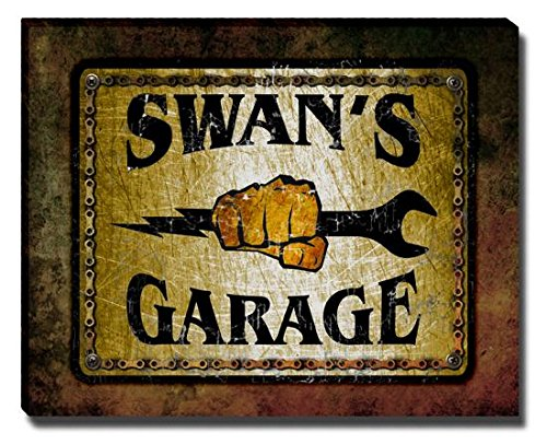 swans-garage-stretched-canvas-print