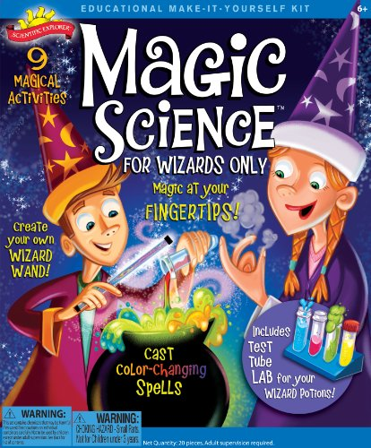 Poof-Slinky - Scientific Explorer Magic Science For Wizards Only Kit, 9- Activities, 0Sa247