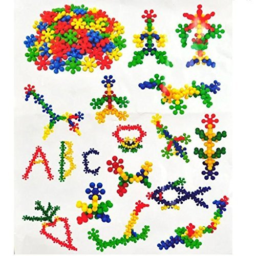 200+Pcs/Bag Rainbowkids Plum Blossom Shaped Building Block Toy Plastic Colorful Baby Early Educational Toys Children Kids Gift Wholesale,To improve Imagination and Creativity,For 2-15 Years Kids DIY (Building Block Baby Walker compare prices)