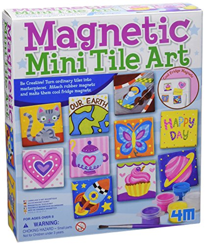 4M Magnetic Tile Art - 1