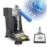 Dual Press Rosin Heat Press Machine,Rosin Press Hand Crank Dual Heat Element Plate 2