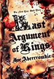 Last Argument of Kings (First Law: Book Three)