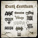 Death Certificate 2012