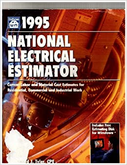 1996 National Electrical Estimator Disk Includes One Disk