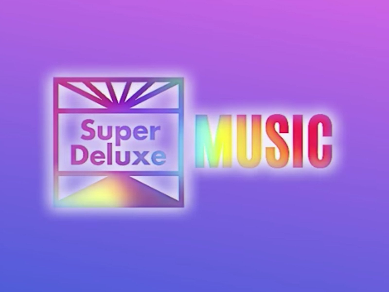 Super Deluxe Music on Amazon Prime Instant Video UK
