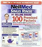 Neilmed Sinus Rinse - 120 Pre-Mixed Sachets