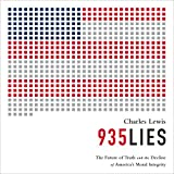 img - for 935 Lies: The Future of Truth and the Decline of America's Moral Integrity book / textbook / text book