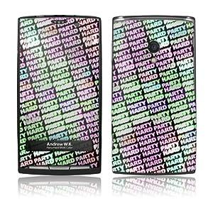 Music Skins Sony Ericsson Xperia 用フィルム  Andrew WK - Party Hard Multi Color  Sony Ericsson Xperia   MSXPERIA0220