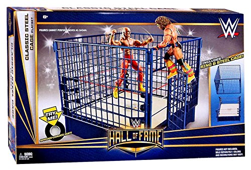 WWE Wrestling Superstar Rings Classic Steel Cage Playset (Wwe Ring Playset compare prices)