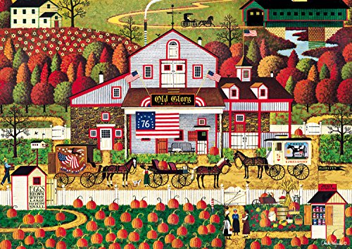 Autumn Farms by Charles Wysocki Jigsaw Puzzle (500 Piece)