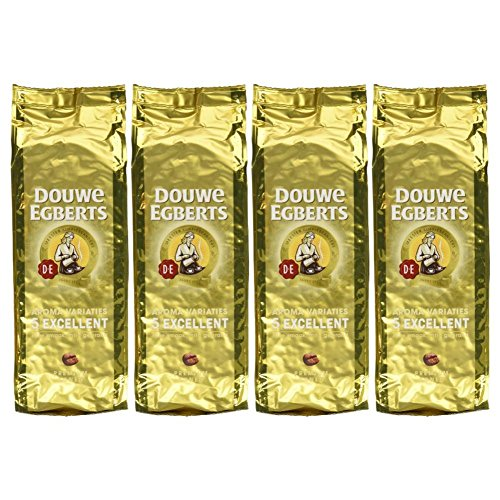 Douwe Egberts Excellent Aroma Whole Bean Coffee 17.6oz (Pack of 4) (Coffee Aroma compare prices)