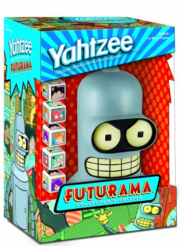 Futurama YAHTZEE Collector's Edition