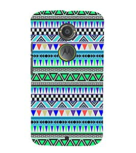 Beautiful Abstract Pattern 3D Hard Polycarbonate Designer Back Case Cover for Motorola Moto X2 :: Motorola Moto X (2nd Gen)