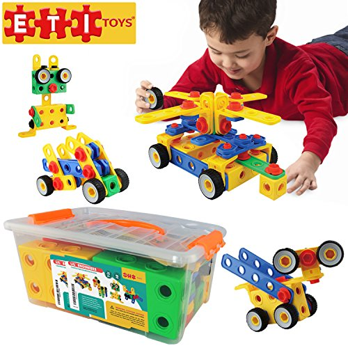 Construction Toys For Girls : Educational toys construction engineering blocks by eti