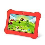 Tablet PC Orbo Jr - Edición para niños [Marzo 2014] 4GB Android 4.1, 5 puntos multi touch (Rojo)