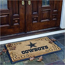 Dallas Cowboys Memory Company Team Door Mat NFL Football Fan Shop Sports Team Merchandise