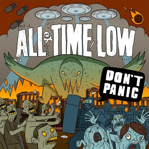 CD : All Time Low - Don't Panic (CD)