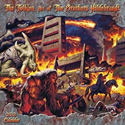 The Tolkien Years of the Brothers Hildebrandt 2013 Wall Calendar