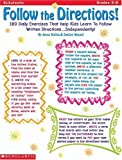 img - for Follow the Directions (Grades 3-6) by Nessel Denise Baltas Joyce Graham (1999-11-01) Paperback book / textbook / text book