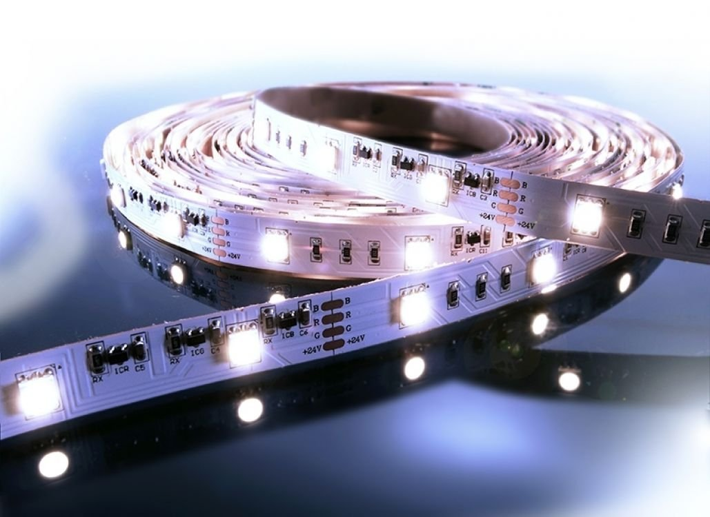 KapegoLED Flexibler LED Stripe, 5050, SMD, 24 V DC, 80 W, kaltweiß 840070