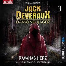 Ravanas Herz (Jack Deveraux Dämonenjäger 3) Hörbuch von Xenia Jungwirth Gesprochen von: Patrick Roche, Werner Uschkurat, Christoph Jablonka