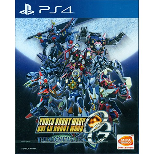 SUPER ROBOT WARS OG THE MOON DWELLERS SONY PS4 NEW ENGLISH SUBTITLES PLAS 05185