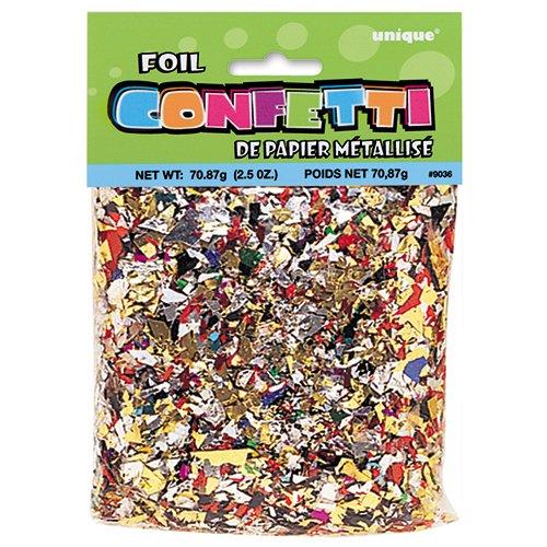 Multicolored Foil Confetti