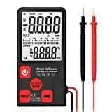 RGEEK Voltage Tester 3.5'' Large LCD Digital Smart Multimeter 3-Line Display TRMS 6000 Counts DMM with Analog Bargraph