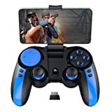 iPEGA PG-9090 Wireless + 2.4G Dual Gamepad with Telescopic Bracket Joystick, Multimedia Game Controller Compatible with IPhone8 / XR/XS for Android Phone Tablet