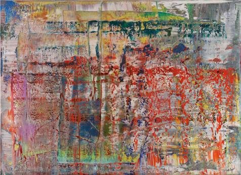 Perfect Effect Canvas ,the Amazing Art Decorative Prints On Canvas Of Oil Painting 'Gerhard Richter - Panorama,20th Century', 18x25 Inch / 46x63 Cm Is Best For Foyer Gallery Art And Home Decoration And Gifts